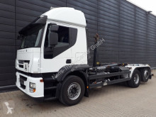 Iveco hook lift truck Stralis AT260S42Y/PS Abrollkipper / Meiller / Retarder