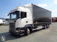 Kamión s prívesom plachtový náves Scania R450 GRAN VOLUME 3 ASSI