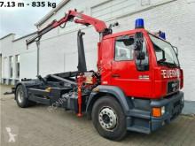 Camion polybenne MAN 18.264 LLC 4x2 BL LLC 4x2 BL mit Kran Meiller MK 67, Ex-Feuerwehr