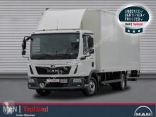 Camión MAN TGL 8.190 4X2 BL,Koffer, Ladebordwand, 6,1m furgón usado