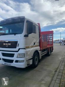 MAN TGX 26.360 truck used heavy equipment transport