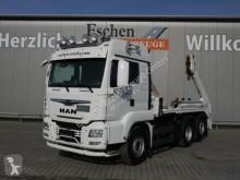 Kamión vozidlo s hákovým nosičom kontajnerov MAN TGS TGS 26/28.460 6x2-4BL Meiller AK16, Funk, 1.Hand