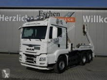 Camion multibenne MAN TGS TGS 26/28.460 6x2-4BL Meiller AK16, Funk, 1.Hand