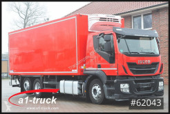 Kamion chladnička Iveco Stralis 460, Lenkachse, Schmitz, LBW