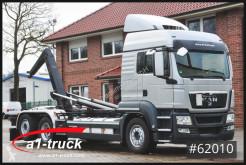 MAN hook lift truck TGS 26.480, Intarder, Lenkachse Meiller,