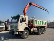 Vrachtwagen kipper Volvo FL10-360 FL10.360 6x4 + FASSI F300