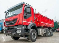 Iveco three-way side tipper truck Eurotrakker EuroTrucker AD 260T50 Meiller Kipper Bordmatik