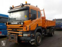 Camion Scania 114-340-4X4-BORDMATIC-WINTERDI benă trilaterala second-hand