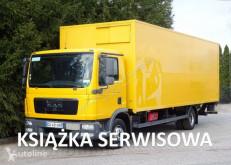 Ciężarówka furgon MAN TGL 12.180 EURO 5 kontener winda klapa poduszki