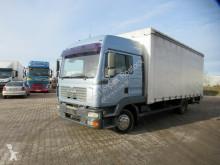 MAN tarp truck 12.240 FL Gardine, Ladebordwand, Fernhaus, Klima