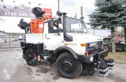 Camion nacelle Unimog U 1400 ZWEIWEGE Road & RAIL way Schiene