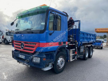 Mercedes two-way side tipper truck Actros 3336