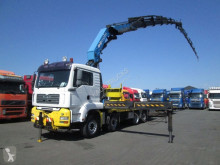 MAN flatbed trailer truck TGS