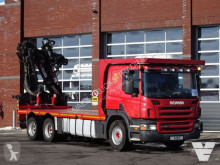 Scania P 420 truck used flatbed