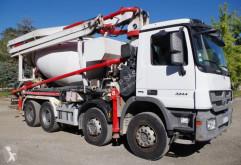 Camion béton malaxeur + pompe Mercedes Actros 3244