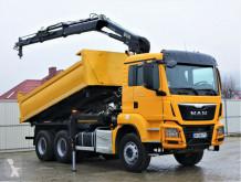 Kamion plošina MAN TGS 33.400 Kipper 4,80 m + Kran * 6x4!