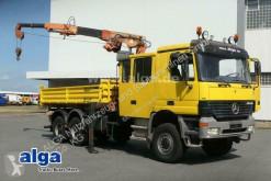 Camion benă trilaterala Mercedes Actros 3331 Actros 6x6, Allrad,Atlas Kran mit Seilwinde