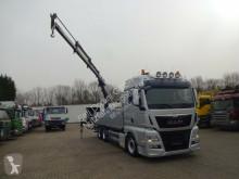 Kamión valník bočnice MAN 26.440 Pritsche mit ATLAS Kran 120.2E 6x2