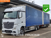 Mercedes Actros 2545 trailer truck used tautliner