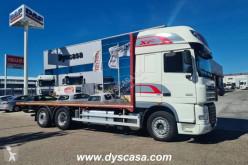Camion DAF XF105 FAN 510 plateau porte paille occasion