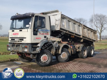 Camión volquete trilateral Iveco 440E42 manual steel