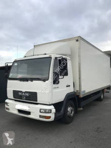 Camion MAN 12.224 furgone plywood / polyfond usato