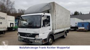 Mercedes ponyvával felszerelt plató teherautó Atego 816 Atego, Pl. Spr.5200 mm,Euro5,Kupplung neu