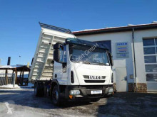 Iveco Eurocargo Eurocargo ML80E22 4x2 Meiller 2x AHK Klima Navi truck used three-way side tipper
