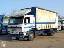 Scania ponyvával felszerelt plató teherautó 93 M 280 Pritsche/Plane * BLATTFEDERUNG*