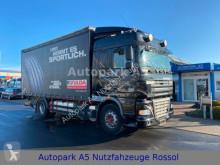 Camión lona corredera (tautliner) DAF XF105 XF 105.410 Pritsche + Plane Klima Euro 5