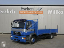 Camión caja abierta teleros MAN 14.224 LLLC Pritsche, 3 Sitze, 2xAHK, Voll-Luft