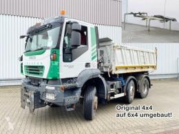 Trakker AD400T45WT 6x4 Trakker AD400T45WT 6x4, Wechselsystem Kipper/SZM, Vorlauflenk-/Liftachse truck used three-way side tipper
