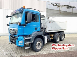 MAN three-way side tipper truck TGS 26.440 6x4 BL 26.440 6x4 BL, Intarder, Wechselsystem, Kipper/SZM