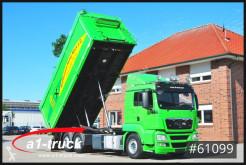 Camión MAN TGS 26.440 BL / 3 Kammern, Schleuse, Kompressor volquete usado