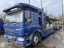 DAF CF75 trailer truck used car carrier