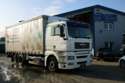MAN ponyvával felszerelt plató teherautó TGA TGA 26.350 LBW