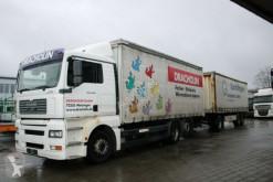 MAN ponyvával felszerelt plató teherautó TGA TGA 26.350 LBW auch mit Anhänger