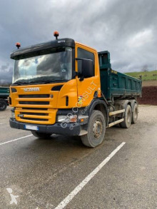 Scania two-way side tipper truck P 340