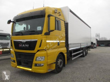 Camión MAN TGX 26.440 lona corredera (tautliner) usado