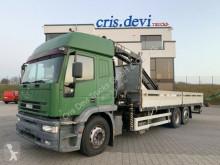 Camion cassone fisso Iveco 240E38 6x2 Hiab 195 | 5x hydr. Ausschübe