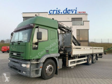 Camión caja abierta teleros Iveco 240E38 6x2 Hiab 195 | 5x hydr. Ausschübe