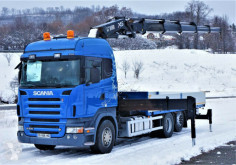 Scania R 500 Pritsche 6,30m +Kran/FUNK ! truck used flatbed