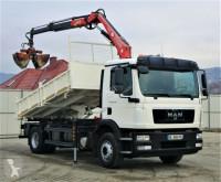 Ciężarówka wywrotka MAN TGM 15.250 Kipper 4,10 m+KRAN/FUNK