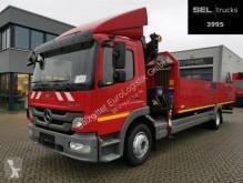 Kamion Mercedes Atego Atego 1224 / HIAB / Laderaumlänge: 6,9 m plošina bočnice použitý