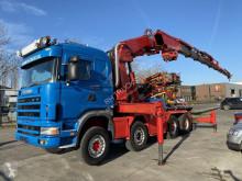Vrachtwagen platte bak Scania R