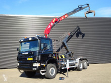 Scania P114 truck used hook lift