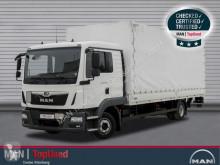 Camión lona corredera (tautliner) MAN TGL 12.220 BL-PRITSCHE PLANE-AHK-LBW-KLIMA-LGS