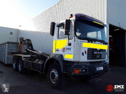 MAN 33.364 truck used hook arm system