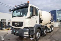 MAN betonkeverő beton teherautó TGS