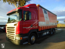 Scania G 450 truck used tautliner